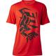 Flame Red Salut T-Shirt