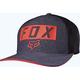 Heather Navy Moth Stacked Flex-Fit Hat