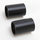 Flat Black 1 1/2 in. Riser Extension for 1 in. Handlebars - LA-7413-02M