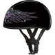 Barbed Wire Heart Skull Cap Half Helmet