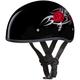 Rose Cap Half Helmet