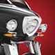 Chrome 3 1/2 in. Cree LED Driving Light Kit - 30-110L