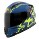 Royal Blue/Yellow/Black Critical Mass SS1600 Helmet