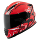 Red/White/Black Critical Mass SS1600 Helmet