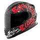 Red/Black Bikes Are In My Blood SS1310 Helmet