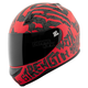 Red/Black Rage With The Machine SS700 Helmet