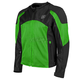 Green/Black Midnight Express Mesh Jacket