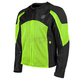 Hi-Vis Green/Black Midnight Express Mesh Jacket
