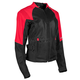 Women's Red/Black Sinfully Sweet Mesh Jacket