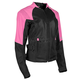 Women's Pink/Black Sinfully Sweet Mesh Jacket