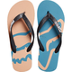 Women's Jade/Melon Beached Flip Flops