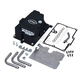 Wrinkle Black Oil Pan w/Supply Line Installation Kit - 310-0870
