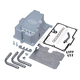 Silver Oil Pan w/Supply Line Installation Kit - 310-0871