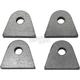 Weld-On Steel Mounting Tabs - 104-0035