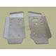 2-Piece Aluminum Floorboard Skid Plates - 0505-1558