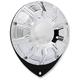 Chrome 10-Gauge Thermostat Cover - I-1217
