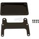 Black V-Rod License Plate Relocation Kit for Models w/240mm Tire - HDVPF-KIT-240-B