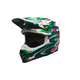 Green/Red Moto-9 Flex McGrath Replica LE Helmet