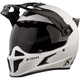 Element Matte White Krios Karbon Adventure Helmet