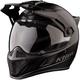 Stealth Matte Black Krios Karbon Adventure Helmet