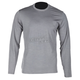 Gray Teton Merino Wool Base Layer Long Sleeve Shirt