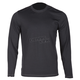 Black Teton Merino Wool Base Layer Long Sleeve Shirt