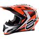 Orange Rise Helmet