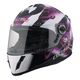 Youth Pink/Black/White 392J Flutter Helmet
