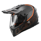 Gray/Orange MX436 Pioneer Element Helmet