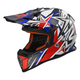 Blue/Red Fast Strong Helmet