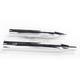 Chrome Oversized 450 Raider Slip-On Mufflers - 16658