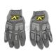 Gray Dakar Pro Gloves