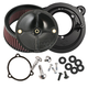 Black Stealth Air Cleaner Kit without Cover For Use w/S&S 58mm Throttle Hog Throttle Body - 170-0164