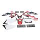 Metal Mulisha Standard Complete Graphics Kit - 20-03354