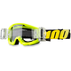Neon Yellow/Black Strata Junior Goggles - 50520-004-02