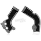 Silver/Black X-Grip Frame Guards - 2630711015