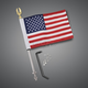 Flag Mount w/ 6 in. x 9 in. Flag - 30-113