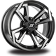 Front/Rear Riot 15x7 Wheel - 570-1266