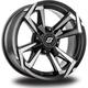 Front/Rear Riot 15x7 12mm Stud Wheel - 570-1267