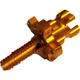 Gold Clutch Cable Adjuster - 00-02150-23