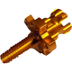 Gold Clutch Cable Adjuster - 00-02151-23