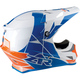 Orange/Blue Rise Helmet