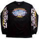 Black 2017 Sturgis Uncle Sam Racer Long Sleeve Shirt