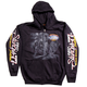 Black 2017 Sturgis Uncle Sam Racer Zip Hoody