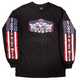 Black 2017 Sturgis USA Downwing Long Sleeve Shirt