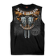 Black 2017 Sturgis Crossed Pistols Sleeveless T-Shirt