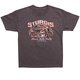 Charcoal 2017 Sturgis Rusty Bike Pin Up T-Shirt