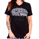 Women's Black 2017 Sturgis Chalk Angel Wings T-Shirt