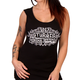 Women's Black  2017 Sturgis Chalk Angel Wings Tank Top