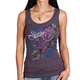 Women's Vintage Purple 2017 Sturgis Windy Dream Catcher Tank Top